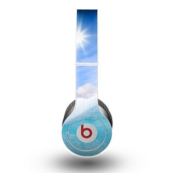 The Sunny Day Waves Skin for the Beats by Dre Original Solo-Solo HD Headphones