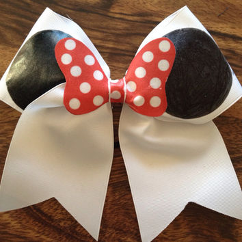 Minnie Mouse Large Cheer Bow