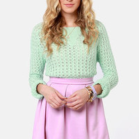 Everything Illuminated Lavender Skirt
