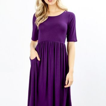 Marie Fit & Flare Dress