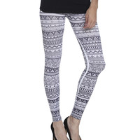 Tribal Print Seamless Legging | Shop Bottoms at Wet Seal