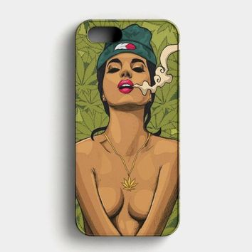 Weed Art iPhone SE Case