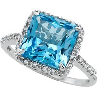 Blue Topaz Ring by Effy Collection