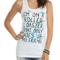 The Fault In Our Stars Roller Coaster Girls Tank Top