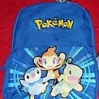 Pokemon Backpack- Chimchar Piplup Turtwig