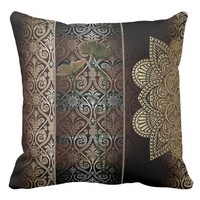 Vintage Style & Chic Throw Pillow