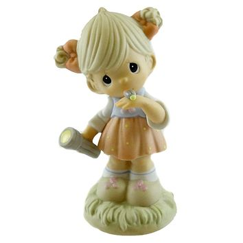 Precious Moments This Little Light Of Mine I'm Gonna Let It Shine Figurine
