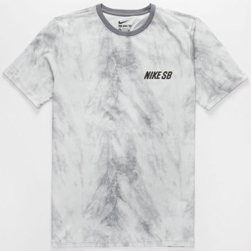 Nike Sb Shibori Mens T-Shirt Grey  In Sizes