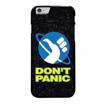 hitchhikers guide to the galaxy dont panic s5 iphone 6 plus 6s plus 4 4s 5 5s 5c 6 6s cases
