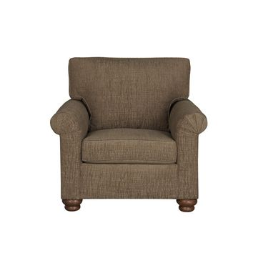 Aubrey Transitional Chair Mocha
