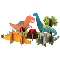 Petit Collage Dinosaurs Pop-out and Play