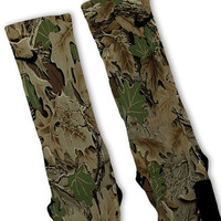 Camouflage Customized Nike Elite Socks! Fast Shipping!!