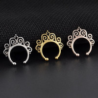 Swirl Faux Septum Ring