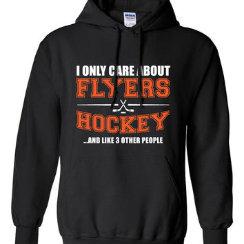 Philadelphia Flyers Hockey Sweater NHL Flyers Hockey Mens Birthday Gift Christmas Gift Ultimate Hockey Fan Custom Hoodie Team Pride BD-227