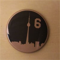 The Six - Toronto Skyline Button