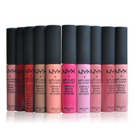 NYX Lip Stick Orange Pink Persistent Lip Gloss [8940033031]