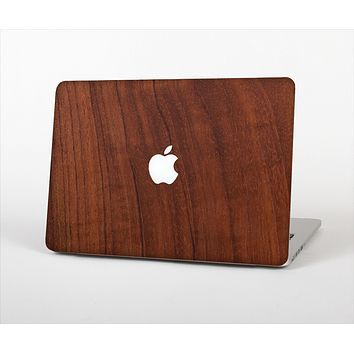 The Raw Wood Grain Texture Skin Set for the Apple MacBook Pro 13""