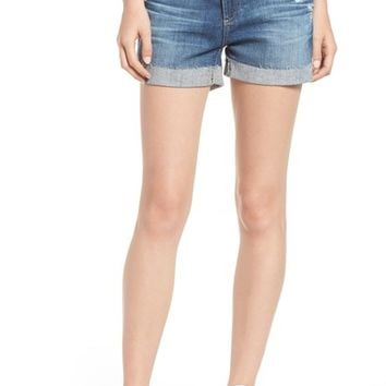 AG The Hailey Shorts (11 Years Teal Sky) | Nordstrom