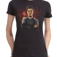 The Hunger Games: Catching Fire Peeta Girls T-Shirt