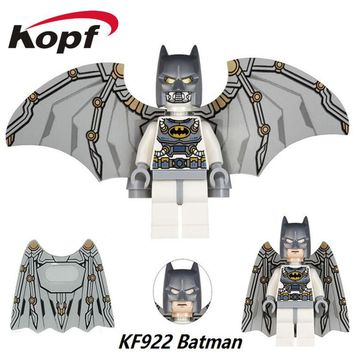 Single Sale Super Heroes Batman With Wings Bruce Wayne Robin Catwoman Riddler Bricks Building Blocks Children Gift Toys KF922