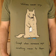 Wolves Never Cry Tshirt (available in mens and womens sizes)