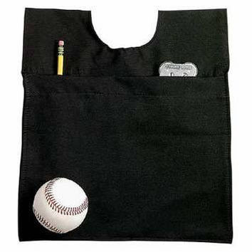 Black Professional Home Plate Umpire Baseball/Softball Ball Bag