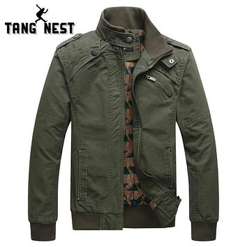 New Fashion Men Jacket Wind Proof Overcoat 4 Solid Colors