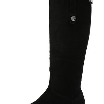 Blondo Canada Pakita - Waterproof Black Suede Tall Boot