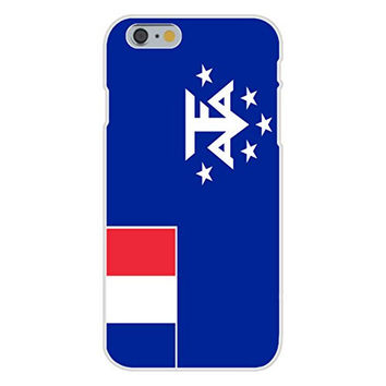 Apple iPhone 6 Custom Case White Plastic Snap On - French Southern & Antarctic Lands - World Country National Flags