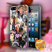 Evan Peters Collage, American Horo Story - Print on hard plastic case for iPhone case. Select an option