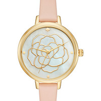 rose dial metro watch