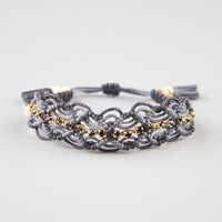 Rose Gonzales Naomi Braclet Black/Silver One Size For Women 24176314501
