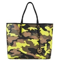 MICHAEL MICHAEL KORS Jet Set Travel Camouflage Tote - Flannels