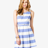 Essential Striped Dress w/ Belt
