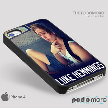 Luke Hemmings Cute for iPhone 4/4S, iPhone 5/5S, iPhone 5c, iPhone 6, iPhone 6 Plus, iPod 4, iPod 5, Samsung Galaxy S3, Galaxy S4, Galaxy S5, Galaxy S6, Samsung Galaxy Note 3, Galaxy Note 4, Phone Case