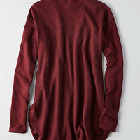 AEO Turtleneck Jegging Sweater, Burgundy