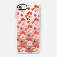 Poppy Clusters iPhone 7 Case by Lisa Argyropoulos | Casetify