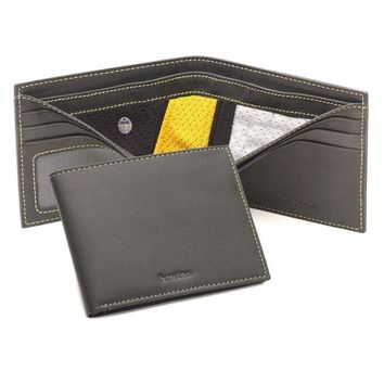 DCCK8X2 Boston Bruins Tokens & Icons NHL Authentic Game Used Jersey Leather Wallet
