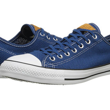 Converse Chuck Taylor® All Star® Summer Woven Ox Midnight Hour/White/Acorn - Zappos.com Free Shipping BOTH Ways