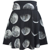 Moon Phase Skater Dress / Skirt