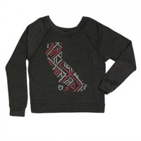 HSS Ladies Southwest Crew Neck Sweatshirt