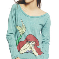 Nerdy Ariel Sweatshirt | Wet Seal