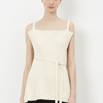 Totokaelo - Marni Antique White Tank Top - $687.00