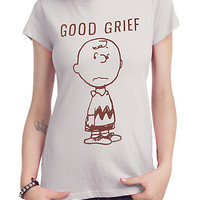 Peanuts Charlie Brown Good Grief Girls T-Shirt