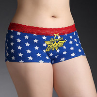 Wonder Woman Star Boyshort Panty