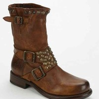 Frye Jenna Studded Mid-Rise Boot- Honey