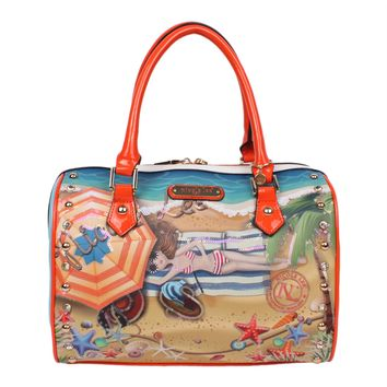 """VACATION IN HAWAII"" PRINT BOSTON BAG - NEW ARRIVALS"