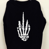 SKELETON SWEATER from brave store