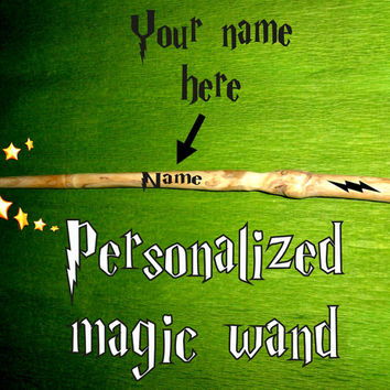 Harry Potter Inspired Wand, Personalized Magic Wand, Hand Crafted Magic Wand, Fairy Magic Wand,