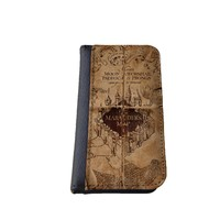 Harry Potter Marauders Map Inspired iPhone 5C Leather Wallet Case By caseOrama